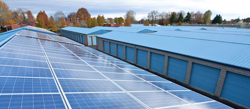 commercial solar - Carbon Trust Green Business Fund