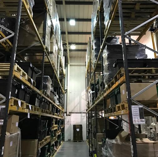 deb warehouse before - CS DEB Dispensing