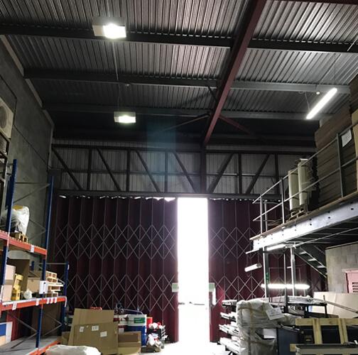 expo technologies warehouse before - CS Expo Technologies