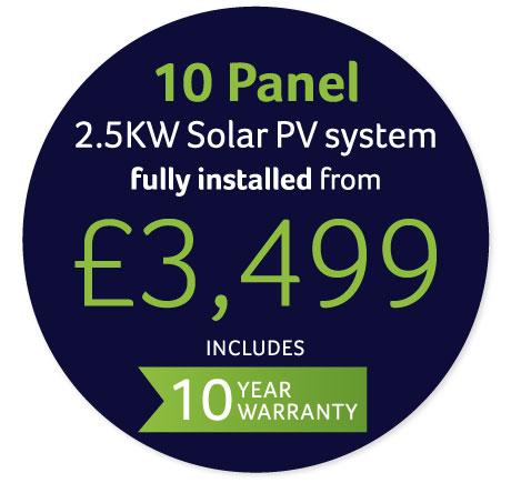 Solar panel offer