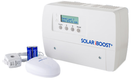 Solar immersion controller unti