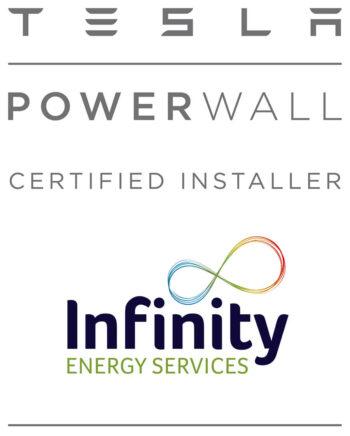 Tesla Powerwall Certified Installer Infinity 350x436 - Tesla Powerwall