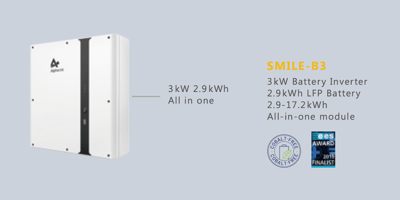 alpha smile storion smile b3 - Solar Battery Storage