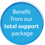 Benefit from our total support package