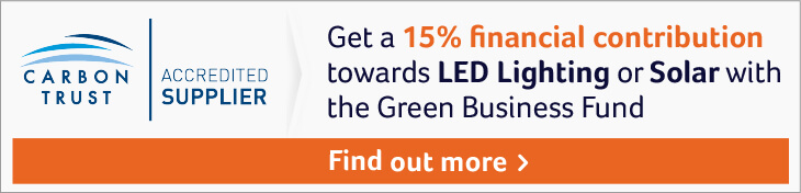 carbon trust funding article banner 1 - Should you be upgrading to LED Warehouse Lighting?