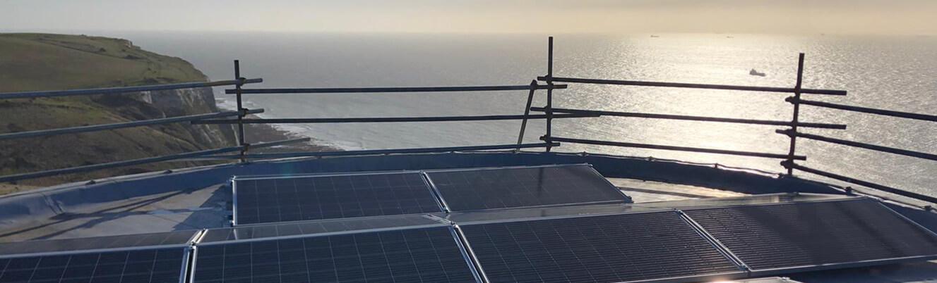 dover intro pic - Solar PV case study - Maritime Agency Dover