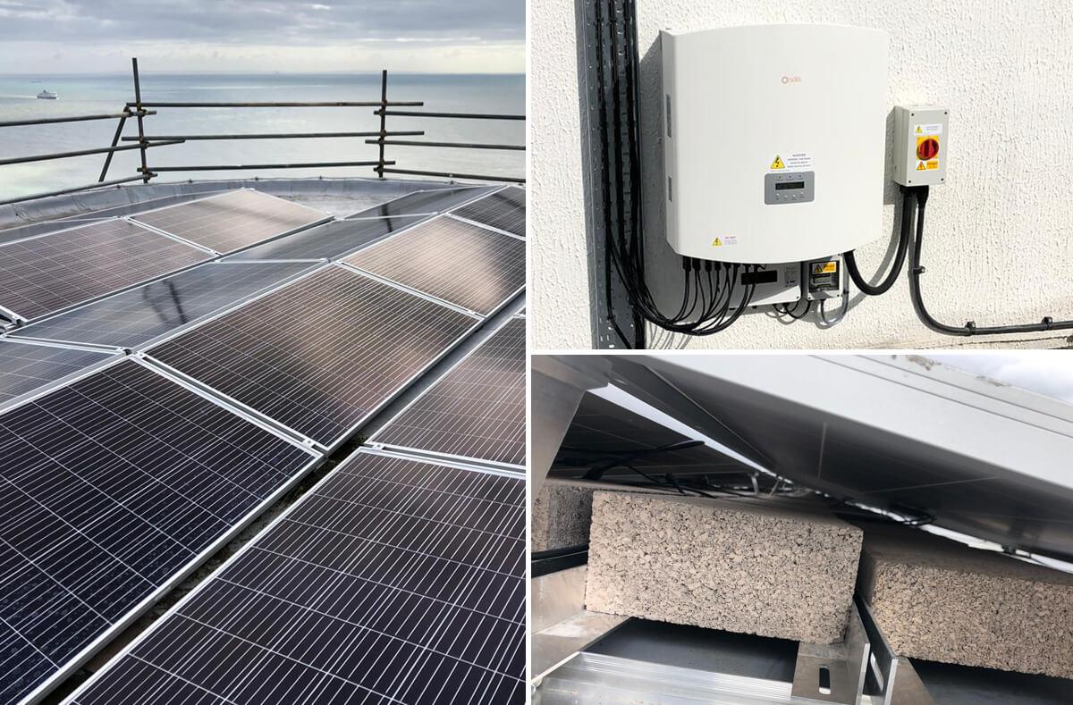 dover right solar - Solar PV case study - Maritime Agency Dover