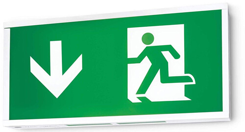 fire exit signs - Emergency Lighting
