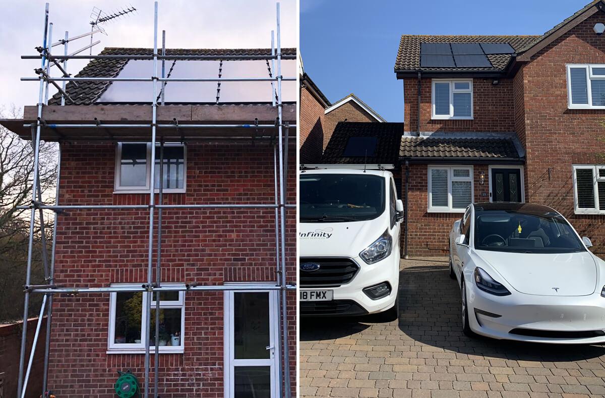 hanslip left solar - Solar PV case study - Hedge End