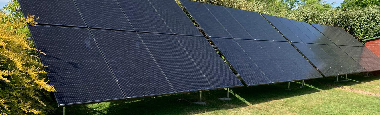 lampitt intro pic - Solar Case Study for a ground-mounted system
