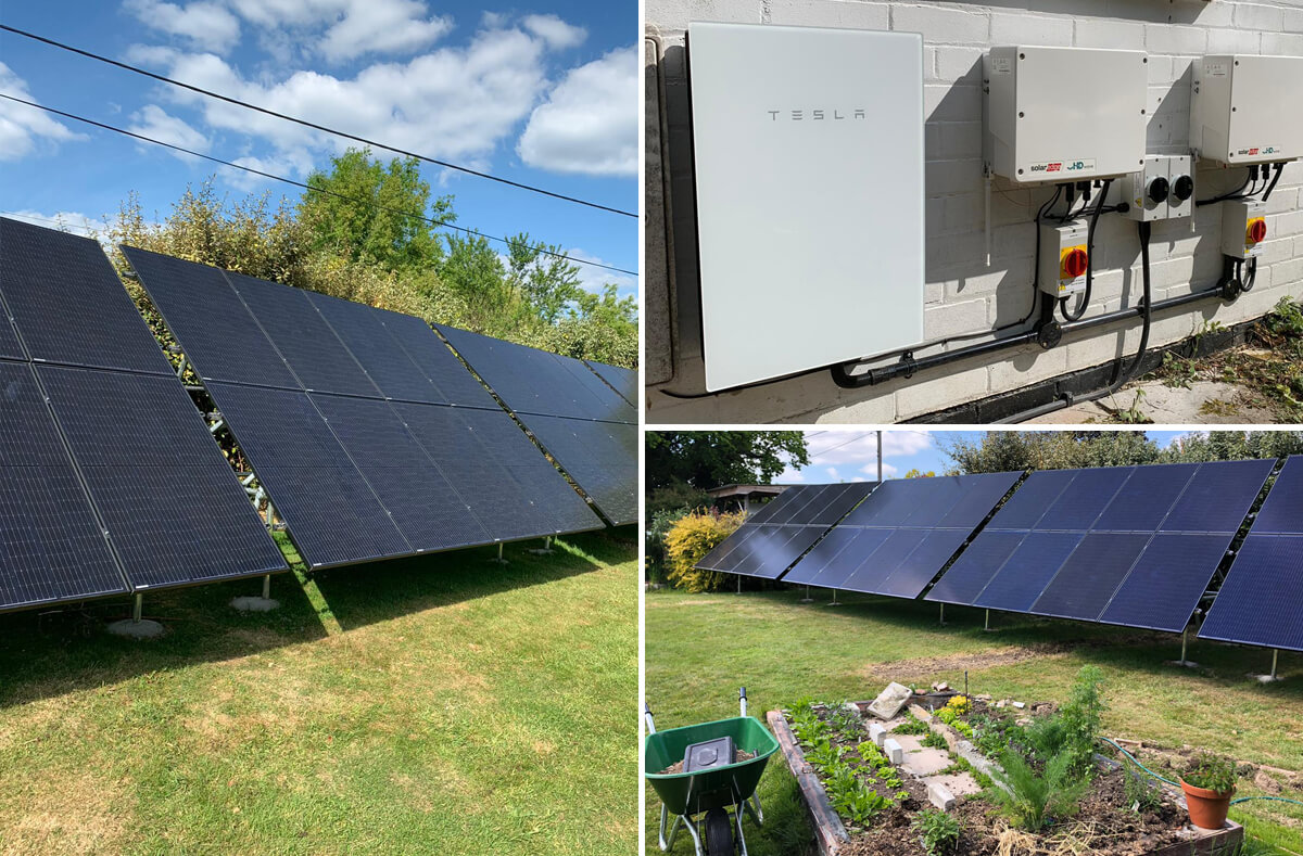 lampitt right solar - Solar Case Study for a ground-mounted system