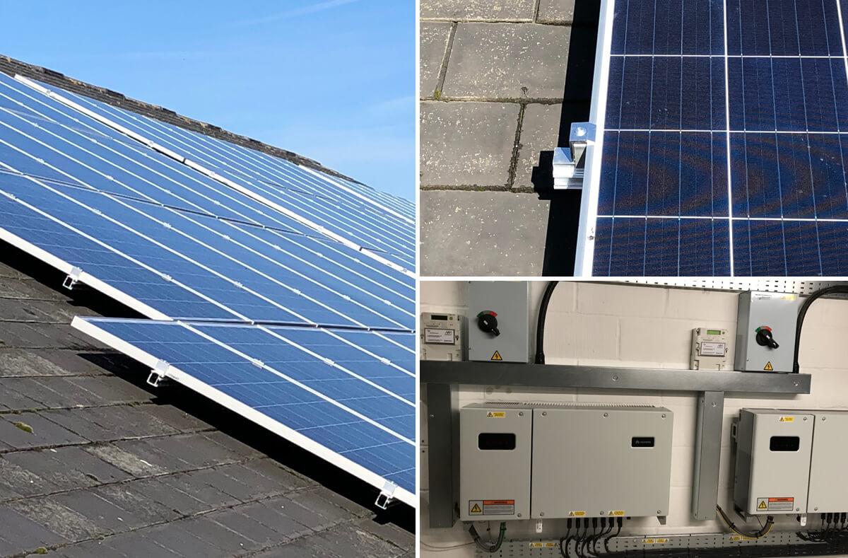 maritime soton right solar - Solar PV case study - Maritime Agency Southampton