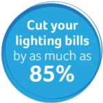 Save up to 85% on your lighting bills