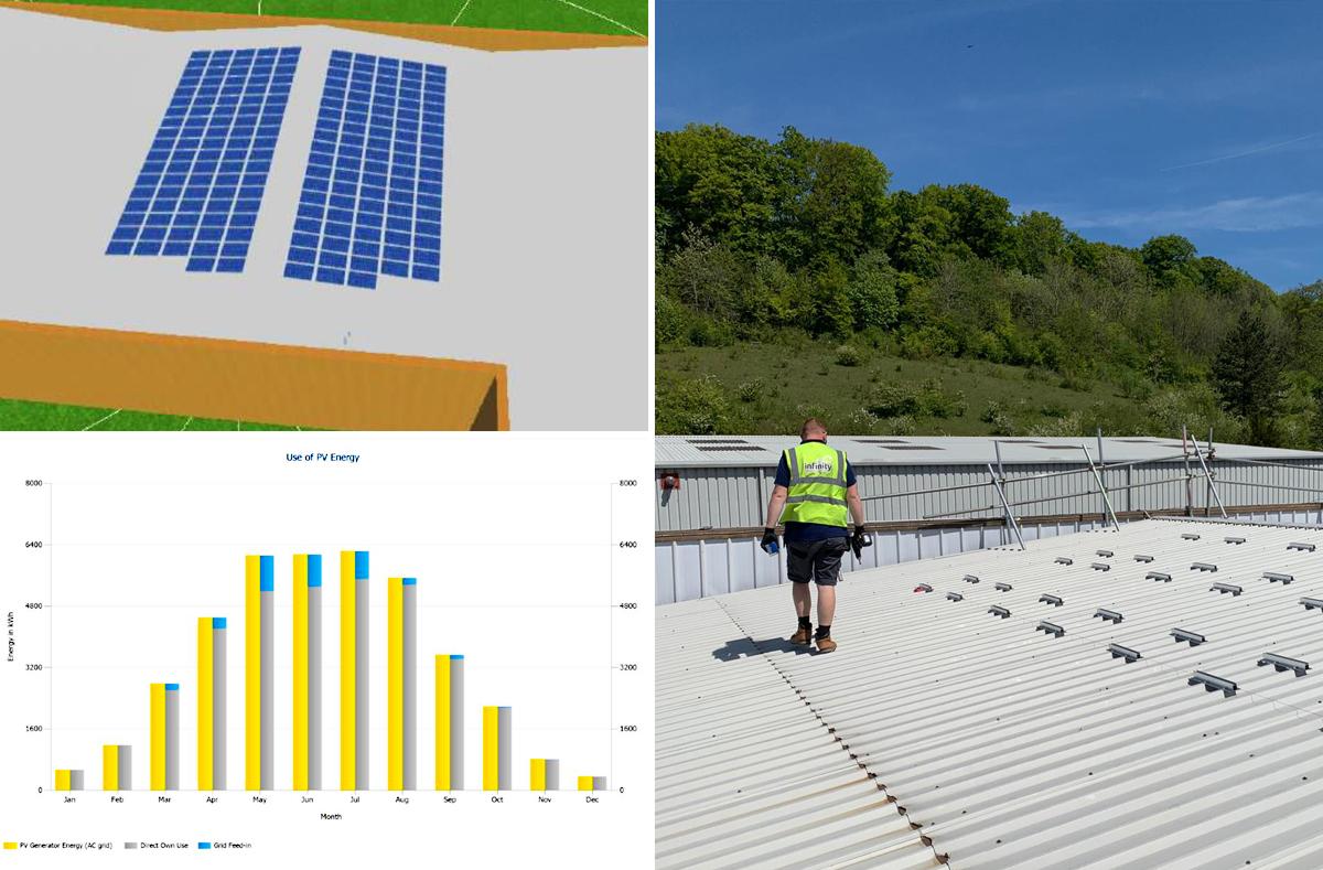 psv left solar - Solar PV case study - PSV Glass