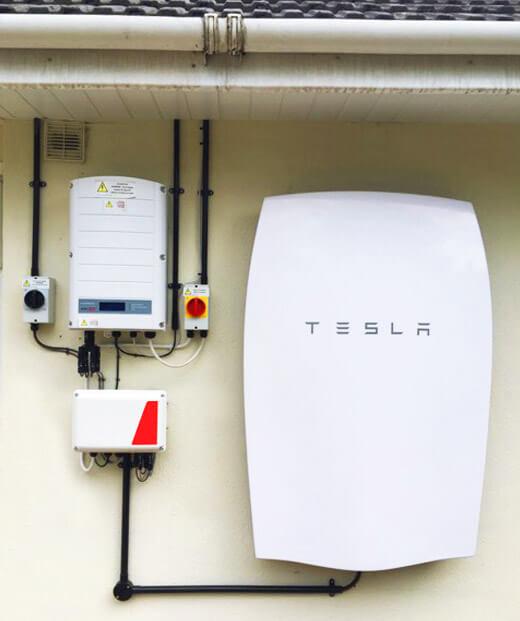 Tesla solar battery