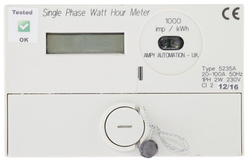 Solar Panels Generation Meter