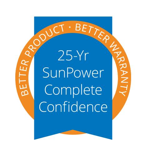 sunpower 25 year warranty - SunPower Solar Panels