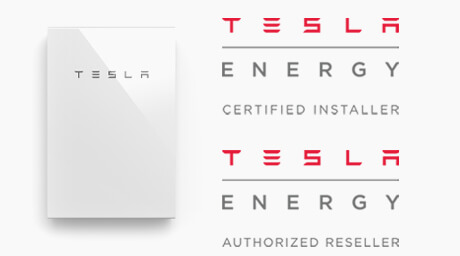 Tesla authorised and certified