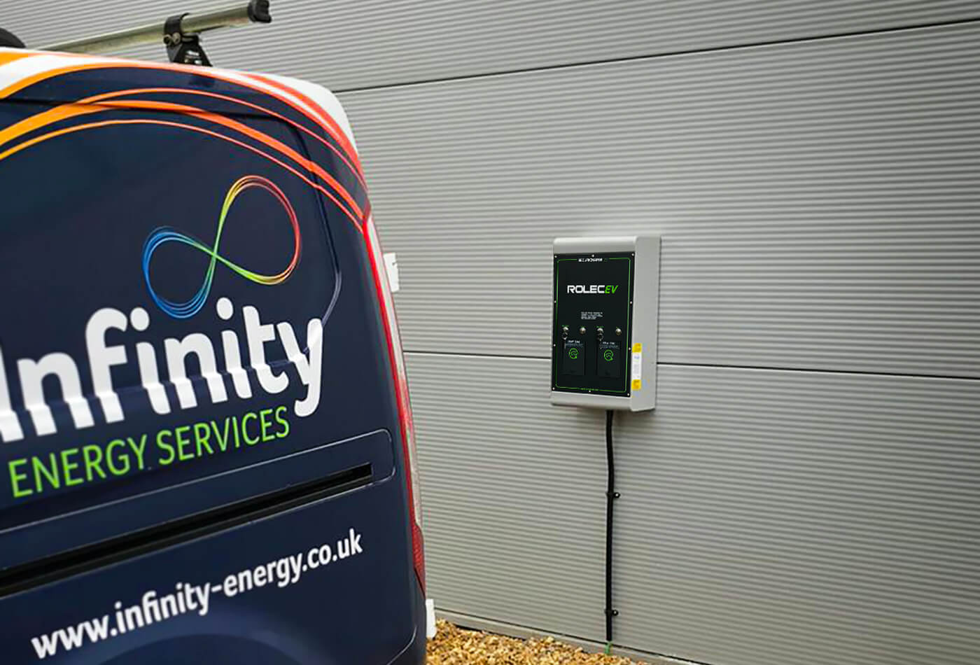 why choose infinity energy services - Electric Car Charging Points for Business